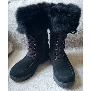 OC systems alpi boots fur tops size 6